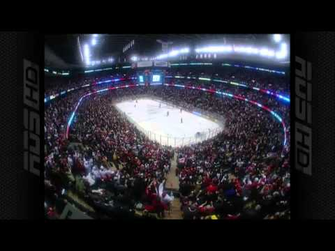 Canada vs Russia Jordan Eberle tying goal (RDS) 5-5