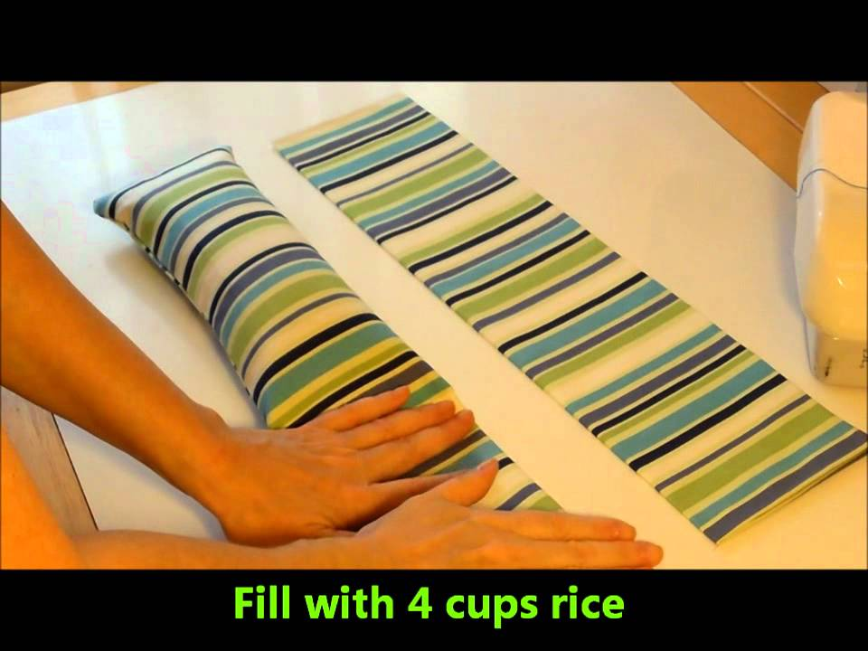 12 Diy Days Of Christmas 12 Warming Or Cooling Rice Bag Youtube