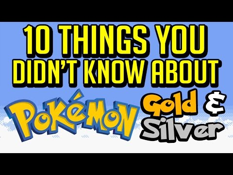 10 Things You Didn't Know About Pokemon Gold & Silver