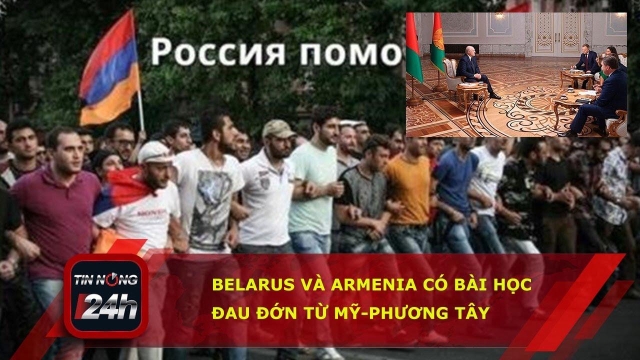 Belarus và Armenia có bài học đau đớn từ Mỹ phương Tây