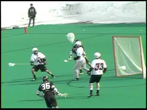 UMass-Army Lacrosse Highlights