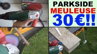 parkside pws 125 a1 meuleuse d angle lidl winkelschleifer angle grinder