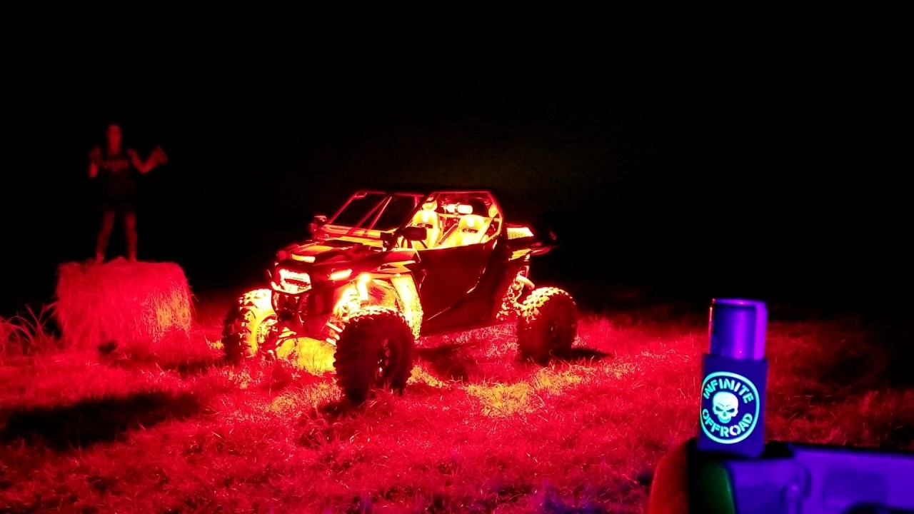 read more shadow reaper rock lights from infinite offroad 25yr you break it we replace it warranty [ 1280 x 720 Pixel ]
