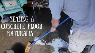 Using Tung Oil to Seal a Concrete Floor