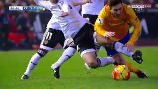 Lionel Messi vs Valencia (Away) 15-16 HD 720p - English Commentary