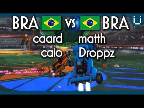 Brazil's Best 2v2 Players | Caard/Caiotg1 vs Matth/Droppz