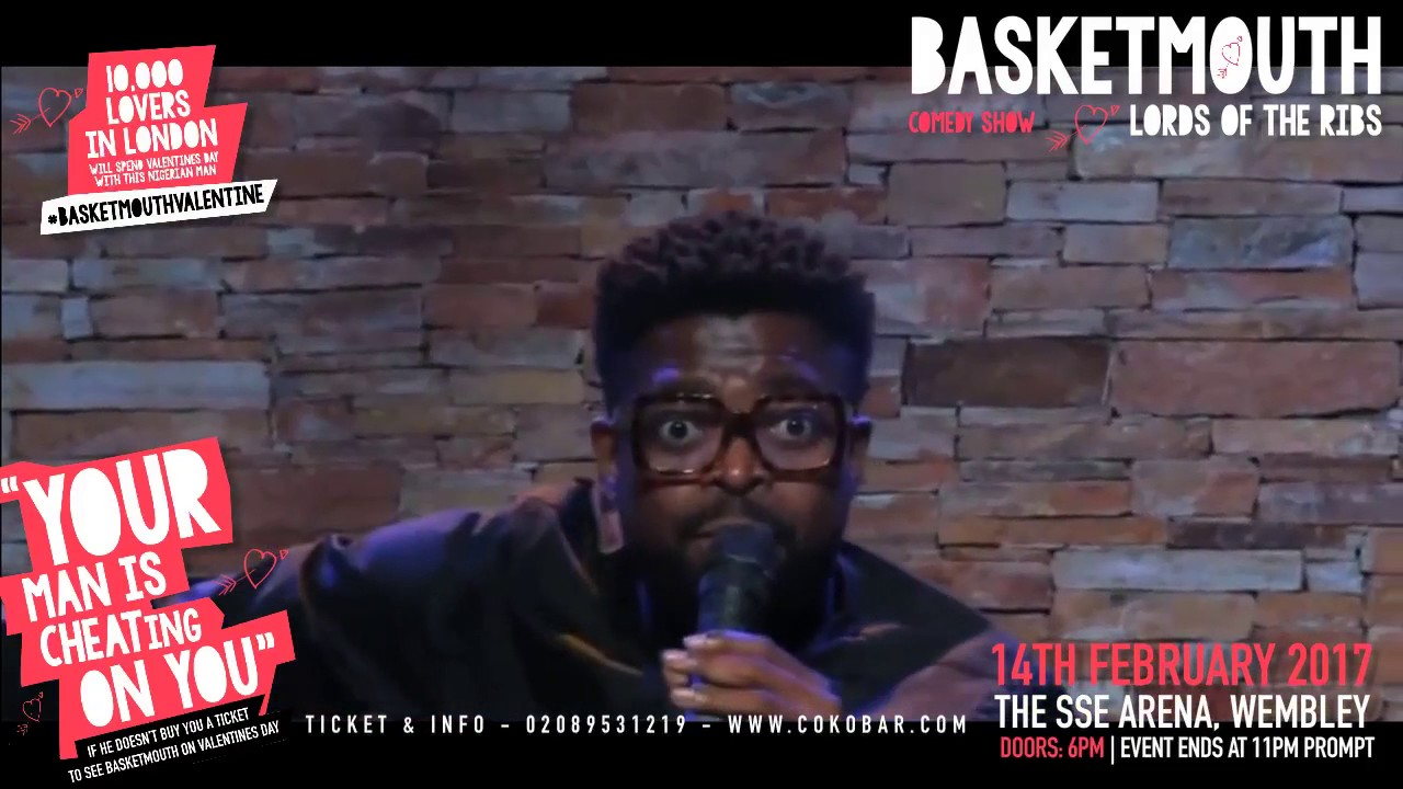 BASKETMOUTH - Drunk Driving In London - @basketmouth LIVE AT THE SSE ARENA WEMBLEY Valentines Day
