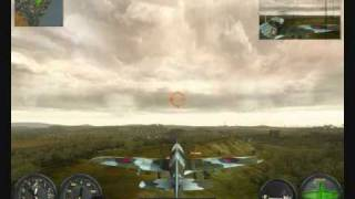 Combat wings battle of Britain PC game, 1st try