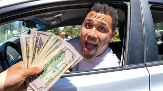 Tipping My Driver $1,000