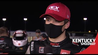 Burton following fight with Gragson: 'That's the second time' | NASCAR at Kentucky
