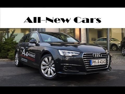 all new audi a4 avant design 2 0 tdi s tronic exterior interior driving youtube