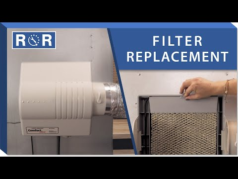 Humidifier Pad: Repair And Replace (White Rodgers HFT2100)