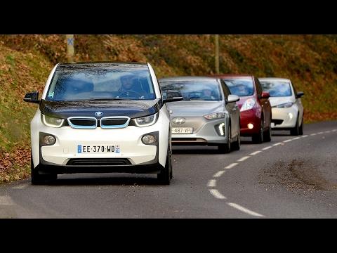 Voitures électriques [4/4 - PRIX + AVIS] : Renault Zoé vs BMW i3 vs Nissan Leaf vs Hyundai Ioniq