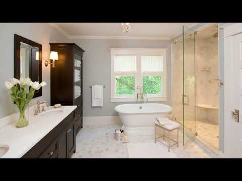 ★ TOP 40 ★ Small Bathroom With Gray Walls