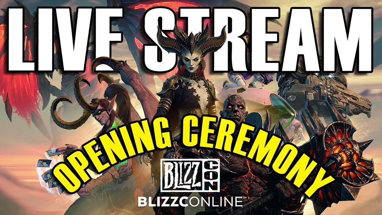 BlizzCon 2021 kicks off soon  watch the stream here