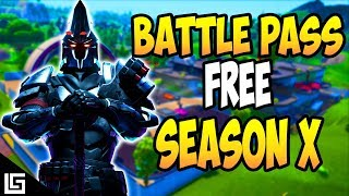 HOW TO GET THE FORTNITE SEASON 10 BATTLE PASS FOR FREE