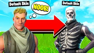 SKULL TROOPERS ARE THE NEW DEFAULT SKINS! (Fortnite Mobile Skull Trooper Gameplay)