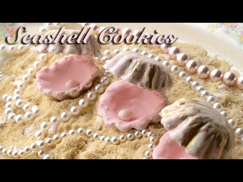 How To Decorate Seashell Cookies With Royal Icing!