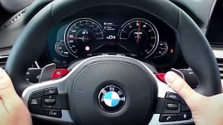 2018 BMW M5 Driving Modes