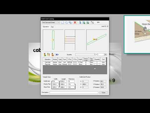 Cabinet Vision Tutorial (Expert - 11) - Intellijoints