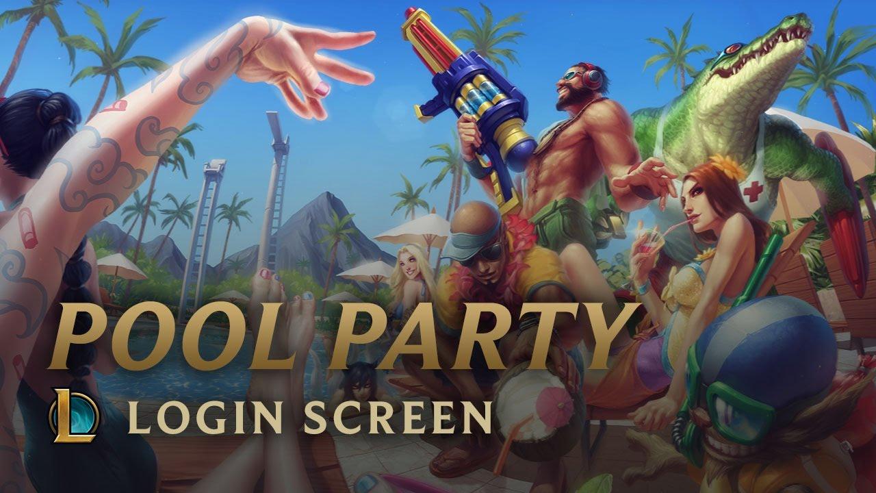 pool party league of legends