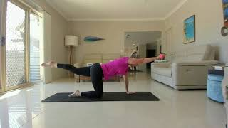 10min core workout with handweight