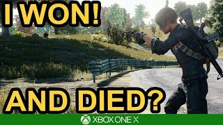 I WON....AND DIED! / PUBG Xbox One X