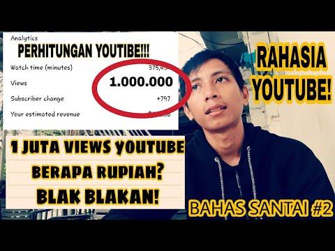 """Berapa Uang Per 1.000.000 (1 juta) Viewer di Youtube? - """"Bahas Santai #2"""""""