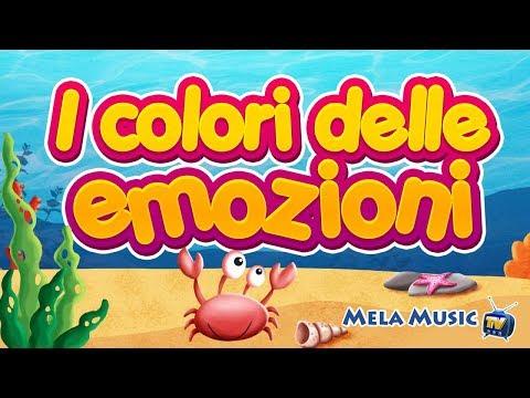 I colori delle emozioni - canzoni per bambini
