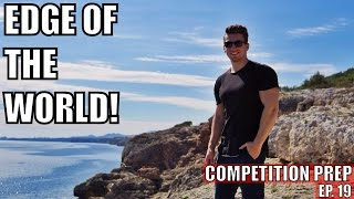 I'M ON THE EDGE OF THE WORLD!   Competition Prep   Ep. 19 - Palma, Mallorca (Travel Vlog)