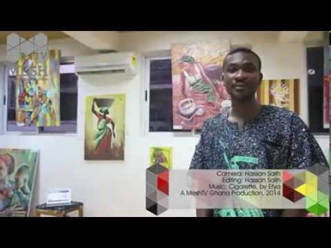Madeinafrica net presents Adom Aky3de Art Exhibition, @Hub Accra