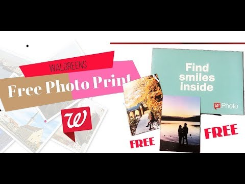 How To Order Free Photo From Walgreens ? Walgreens Photo Printing  - Free Photo Print Walgreens