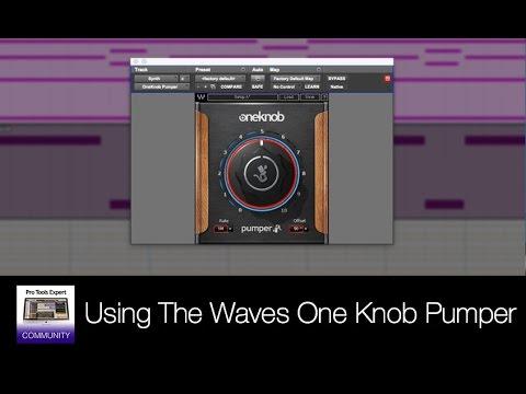 waves one knob pumper how to use waves one knob pumper plug in youtube. Black Bedroom Furniture Sets. Home Design Ideas