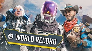 *63 KILLS* THE NEW WORLD RECORD!? - Best Apex Legends Funny Moments and Gameplay Ep 303