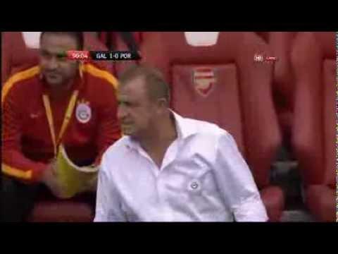 Fatih Terim'in Emirates Cup'taki müthiş hareketi ve stad tepkisi