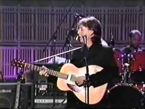 Paul McCartney at the Ed Sullivan theatre 1992~ (the good bits)