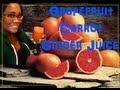 Grapefruit, Carrot Ginger Juice!