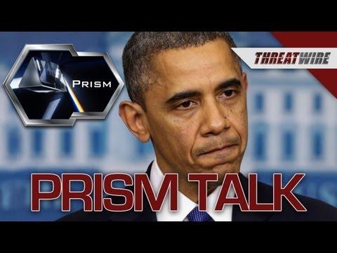 Obama Talks PRISM! - Threat Wire