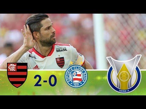 Melhores Momentos - Flamengo 2 x 0 Bahia - Campeonato Brasileiro (31/05/2018)