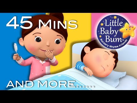 Are You Sleeping? | Plus Lots More Nursery Rhymes | 45 Minutes Compilation from LittleBabyBum!