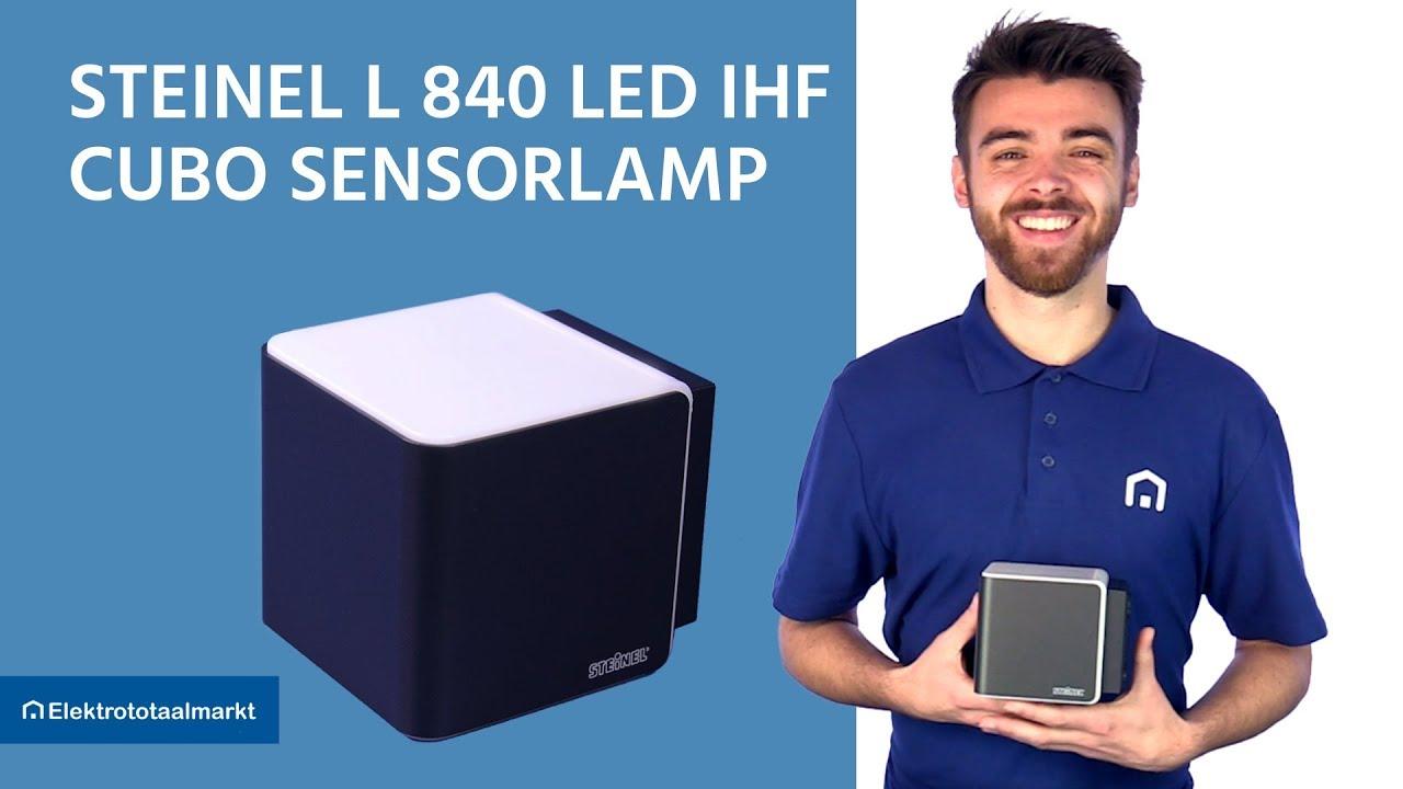 Steinel Außenleuchte L 840 LED iHF Bewegungsmelder Anthrazit Wandleuchte Lampe
