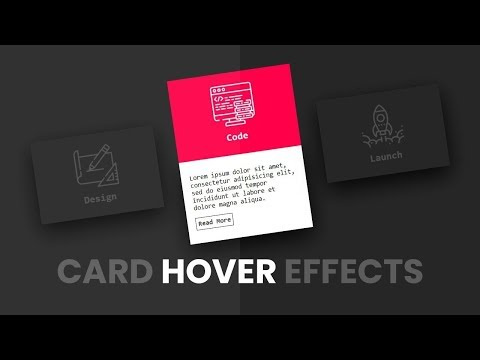 CSS Card Hover Effects  Stylish CSS Effect  Easy Effects  Html & CSS  Tricky Codez thumbnail