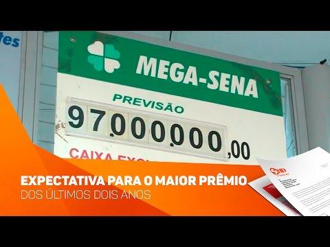 Expectativa para o maior prêmio da mega-sena dos últimos dois anos - TV SOROCABA/SBT