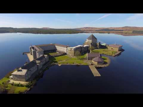 St Patrick's Purgatory, Co.Donegal. Ireland 4K
