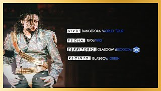 Michael Jackson Live Dangerous World Tour Glasgow 1992