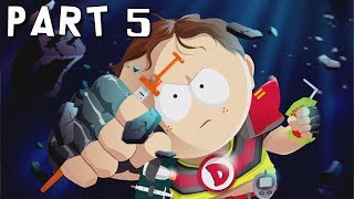 SOUTH PARK THE FRACTURED BUT WHOLE Walkthrough Gameplay Part 5 - Assassin's Creed Outfit (PS4 Pro)