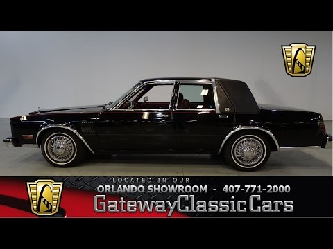 1988 Chrysler Fifth Avenue Gateway Classic Cars Orlando #435