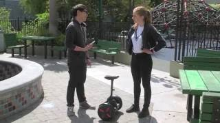 Test Riding the Segway MiniPro Personal Transporter!