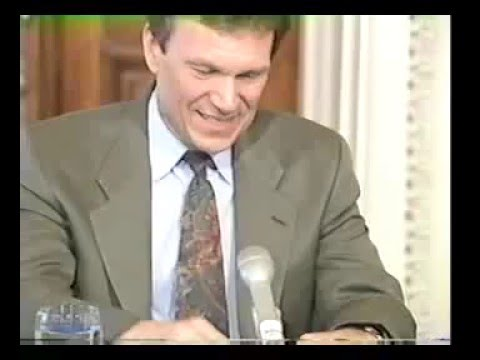 Tom Daschle Press Conference