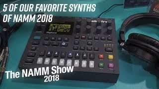 5 of Our Favorite Synths of NAMM 2018